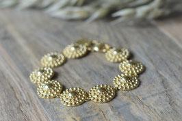 SALE Armkette gold Pinksand Muscheln art nr. A 386