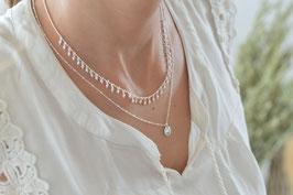 Halskette mit vielen Kugeli 45 cm Art. nr Ha 140