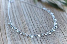 Halskette silber Donia Pink Sand HA 530