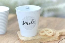 Krasilnikoff Tasse MUg SMILE art nr. K 28