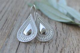 Ohrenhänger Silbertropfen OS 162