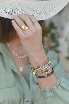 Gold Armband Grace Da shanti art nr. Ga 75