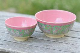 Rice Schüsselchen grün Schmetterling rosa art nr. ri 40