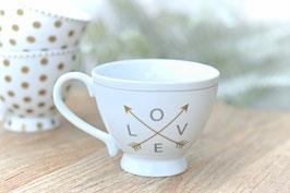 Tasse gross Happy Chic Cup Love Krasilnikoff Art. Nr. K 25