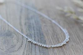 Halskette mit kleinen feinen Perlen Pink Sand HA 178