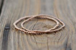 Rosegold Armband einfach Art Nr. A 304