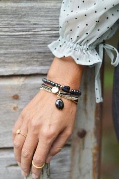 Nirmalarmband A beautifulStory  Mehrfach Armband Gold Bracelet art Nr. Ba 8