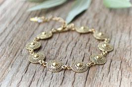 Gold Armkette Yolande Une Lignue Art nr. Ga 57