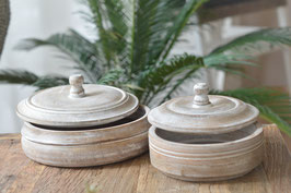 Runde Geschenkbox Holz Art. nr G2