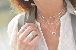 Halskette silber Moon Art. Nr. HA 516