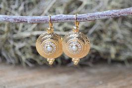 SALE Ohrenhänger gold  Pinksand Mayleen art nr. Os 161