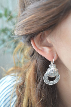 Ohrenhänger silber bohemian  Geschwärzt Une Ligne art nr. Os 204