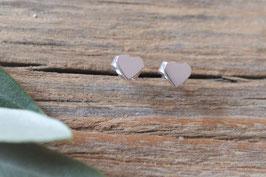 Silber Ohrenstecker Herzli fein KS 24