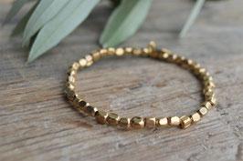 Armband gold Pretty PInk sand  art nr. Ga 43