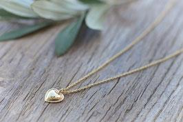 Halskette gold Heart Pink Sand Art. nr. GH 116