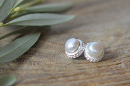 Ohrenstecker Perle ( Stecker oben ) Art. Nr. OS 136