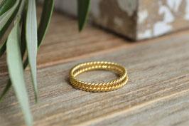 gold Fingerring extra fein doppelt  art nr GF 47