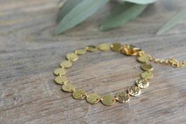 Gold Armkette rondelle PINKSAND art nr. GA 46