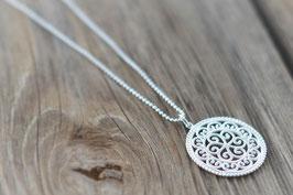 Silberhalskette mit Amulettanhänger  Art. Nr. H/A 24