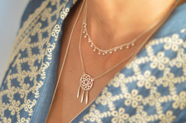 Halskette silber Traumfänger HA 534