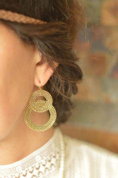 Gold Ohrenhänger Unelignue Samia art nr. Go83