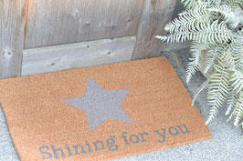 Fussmatte shining for you Art. Nr. ACC 42