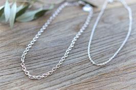 Silber Halskette Anchor Ha 514 Pink Sand