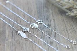 Silberarmkette mit Symbol   Art. Nr. A 27