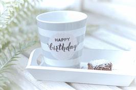 Krasilnikoff Tasse mug HAPPY BIRTHDAY art nr. K41