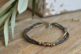 Gentle Armband dreifach fein A BEAUTIFULSTORY Art. nr. Ba30