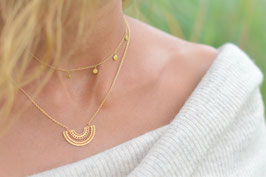Gold Halskette Halbkreis Art. nr. GH 2