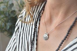 Halskette silber geschwärzt Une Ligne art nr . 208