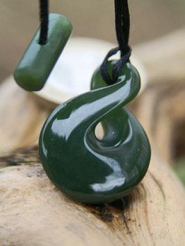 Twist - Jade Anhänger