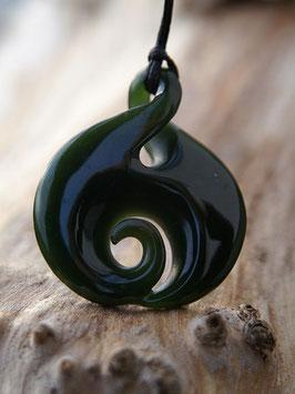 Twist Koru - Jade Anhänger