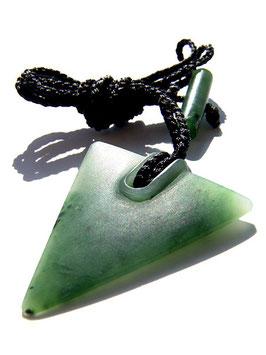 Dreieck - Jade Anhänger