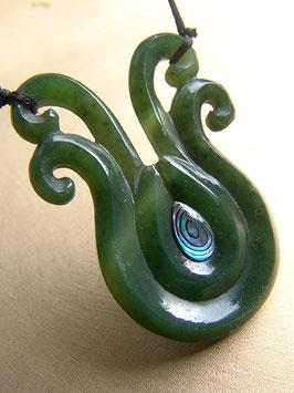 Multi Koru - Jade Anhänger