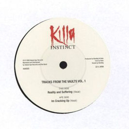 Killa Instinct ‎NAR005– Tracks From The Vaults Vol. 1