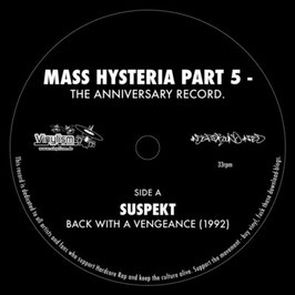 V/A Mass Hysteria 5 NAR005 - The Anniversary Record