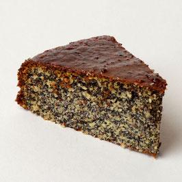 Mandel-Mohn Kuchen