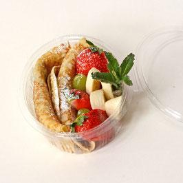 Apfel-Rosinen Pfannkuchen
