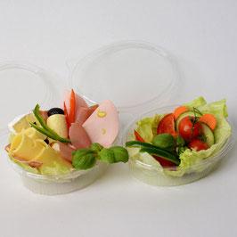 Portion Wurst/Käse