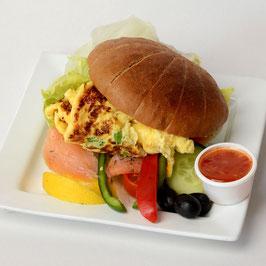 Lachs Burger