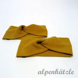 Turbanstirnband ( Golden Yellow )