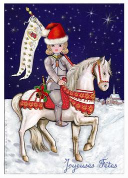 Carte postale Joyeuses Fêtes