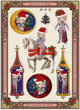 Ornements de Noël Jeanne Classique ou Petite Jeanne