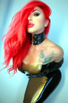 Classic neck corset NC002/B
