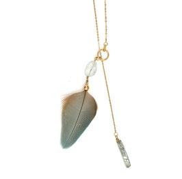 Federkette Federleicht Kristall N°1