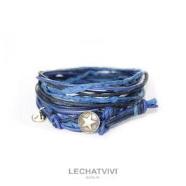 ★ Wickelarmband mit Stern in Blau von LeChatVIVI BERLIN®