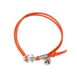 Ankerarmband N°5 by LeChatVIVI BERLIN Orange