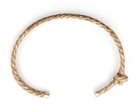 Maritimer Armreif mit Knoten in Seiloptik by LeChatVIVI BERLIN®